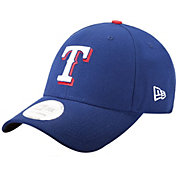 New Era Men's Texas Rangers 9Forty League Royal Adjustable Hat