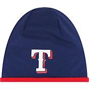 New Era Men's Texas Rangers Authentic Collection Tech Knit Hat