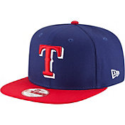 New Era Men's Texas Rangers 9Fifty Shore Snapper Adjustable Hat