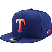 New Era Men's Texas Rangers 9Fifty Color Dim Adjustable Hat