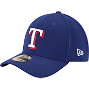 New Era Men's Texas Rangers 39Thirty Royal Classic Stretch Fit Hat