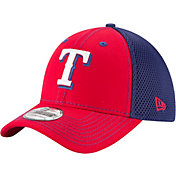 New Era Men's Texas Rangers 39Thirty Team Front Neo Flex Hat