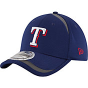 New Era Men's Texas Rangers 39Thirty Royal Reflectaline Flex Hat