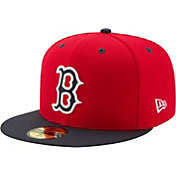 New Era Men's Boston Red Sox 59Fifty Diamond Era Red Fitted Hat