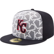 New Era Men's Kansas City Royals 59Fifty 2016 4th of July Authentic Hat