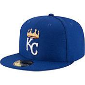 New Era Men's Kansas City Royals 59Fifty Diamond Era Royal Fitted Hat