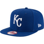 New Era Men's Kansas City Royals 9Fifty Royal Flag Stated Adjustable Hat