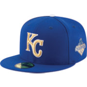 New Era Men's Kansas City Royals 59Fifty Opening Day Royal/Gold Authentic Hat