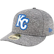New Era Men's Kansas City Royals 59Fifty Grey Low Crown Fitted Hat