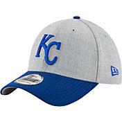New Era Men's Kansas City Royals 39Thirty Change Up Redux Grey Stretch Fit Hat