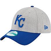 New Era Men's Kansas City Royals 9Forty Grey Adjustable Hat