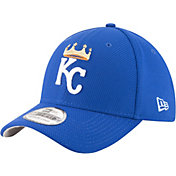 New Era Men's Kansas City Royals 39Thirty Diamond Era Royal Stretch Fit Hat
