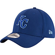 New Era Men's Kansas City Royals 39Thirty Tone Tech Royal Flex Hat