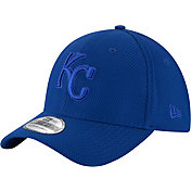 New Era Men's Kansas City Royals 39Thirty Diamond Era Tone Tech Royal Flex Hat