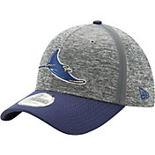 New Era Men's Tampa Bay Rays 39Thirty Clubhouse Grey/Navy Flex Hat