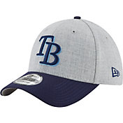 New Era Men's Tampa Bay Rays 39Thirty Change Up Redux Grey Stretch Fit Hat