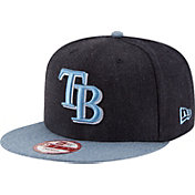 New Era Men's Tampa Bay Rays 9Fifty Heather Action Adjustable Hat