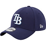 New Era Men's Tampa Bay Rays 39Thirty Classic Navy Flex Hat