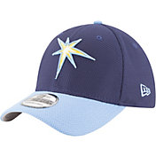 New Era Men's Tampa Bay Rays 39Thirty Diamond Era Navy Flex Hat