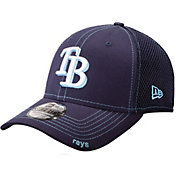 New Era Men's Tampa Bay Rays 39Thirty Neo Navy Flex Hat