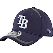 New Era Men's Tampa Bay Rays 39Thirty Navy Reflectaline Flex Hat