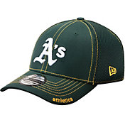 New Era Men's Oakland Athletics 39Thirty Green Neo Flex Hat