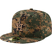 New Era Men's Houston Astros 59Fifty 2016 Memorial Day Authentic Hat