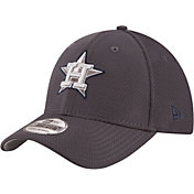 New Era Men's Houston Astros 39Thirty Tone Tech Grey Flex Hat
