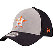 New Era Men's Houston Astros 39Thirty Heather Grey Neo Flex Hat
