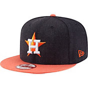 New Era Men's Houston Astros 9Fifty Heather Action Adjustable Hat