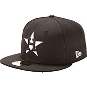 New Era Men's Houston Astros 59Fifty Black Hat