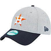 New Era Men's Houston Astros 9Forty Grey/Navy Adjustable Hat