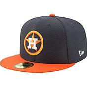 New Era Men's Houston Astros 59Fifty Diamond Era Navy Fitted Hat
