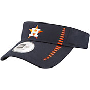 New Era Men's Houston Astros Navy Adjustable Speed Visor