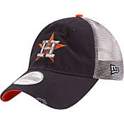 New Era Men's Houston Astros 9Twenty Rustic Navy Adjustable Hat