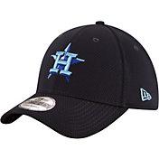 New Era Men's Houston Astros 39Thirty Tone Tech Navy Flex Hat
