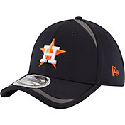 New Era Men's Houston Astros 39Thirty Navy Reflectaline Flex Hat