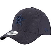 New Era Men's Houston Astros 39Thirty Diamond Era Tone Tech Navy Flex Hat