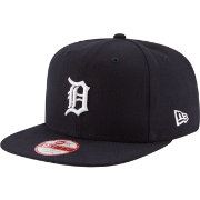 New Era Men's Detroit Tigers 9Fifty Navy Flag Stated Adjustable Hat