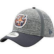 New Era Men's Detroit Tigers 39Thirty Clubhouse Grey/Navy Flex Hat