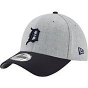 New Era Men's Detroit Tigers 39Thirty Change Up Redux Grey Flex Hat