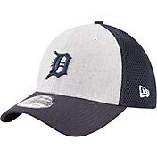 New Era Men's Detroit Tigers 39Thirty Heather Grey Neo Flex Hat