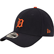 New Era Men's Detroit Tigers 39Thirty Alternate Classic Navy Stretch Fit Hat