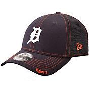 New Era Men's Detroit Tigers 39Thirty Neo Navy Flex Hat