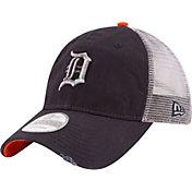 New Era Men's Detroit Tigers 9Twenty Rustic Navy Adjustable Hat