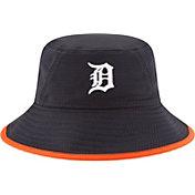New Era Men's Detroit Tigers Navy Team Bucket Hat