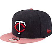 New Era Men's Minnesota Twins 9Fifty Heather Action Adjustable Hat