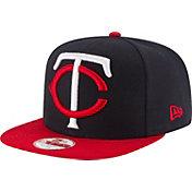 New Era Men's Minnesota Twins 9Fifty Grand Logo Adjustable Hat