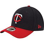 New Era Men's Minnesota Twins 39Thirty Alternate Classic Navy Flex Hat