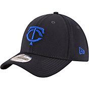 New Era Men's Minnesota Twins 39Thirty Tone Tech Navy Flex Hat